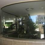 ויטרינה זכוכית פונורמית