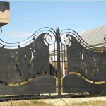שער פח לכניסה לבית