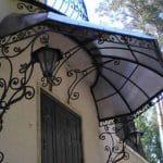 גגון לכניסה לבית מטריה 67
