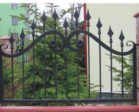 גדר חצים מעוצב