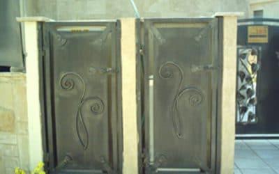 דלת אלומיניום שרות